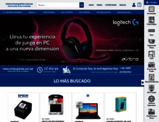 compupartes.com.pe screenshot
