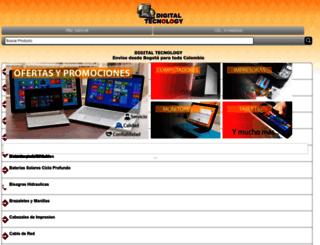 computadoresbogota.com screenshot