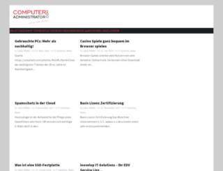 computer-administrator.com screenshot
