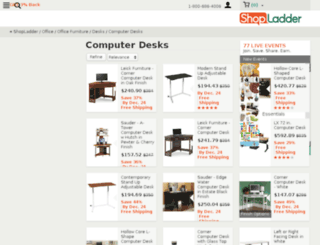 computerdeskshowroom.com screenshot