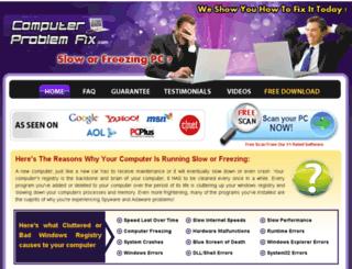 computerproblemfix.com screenshot