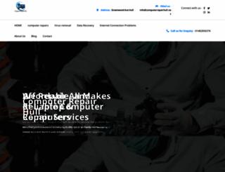 computerrepairhull.net screenshot