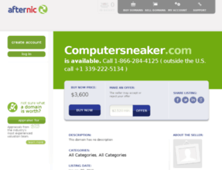 computersneaker.com screenshot