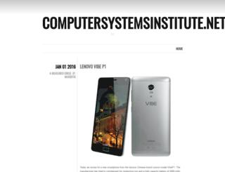 computersystemsinstitute.net screenshot