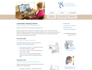 computingcomfort.org screenshot