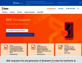 compuware.com screenshot