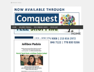 comquest.sagabay.net screenshot