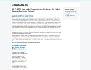 comscan.es screenshot