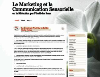 comsensorielle.wordpress.com screenshot