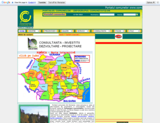 comune.ro screenshot