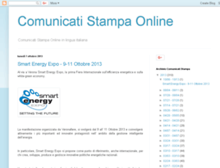 comunicatistampaonline.name screenshot