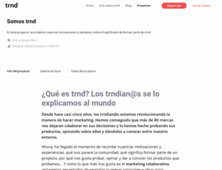 comunidad-marketing-colaborativo.trnd.es screenshot