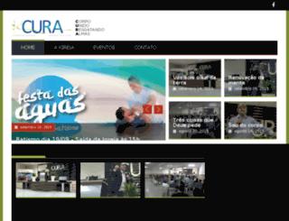 comunidadecura.com.br screenshot