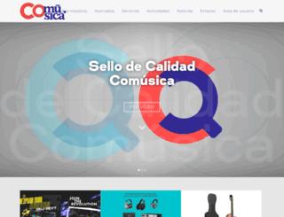 comusica.com screenshot