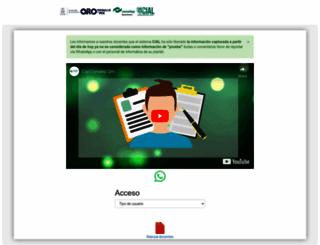 conalepqro.edu.mx screenshot
