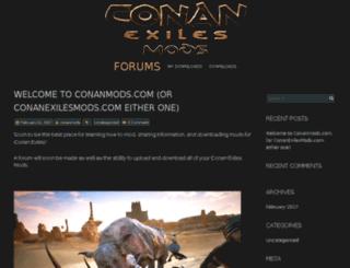 conanmods.com screenshot