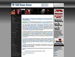 conanstevens.com screenshot