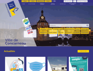 concarneau.fr screenshot