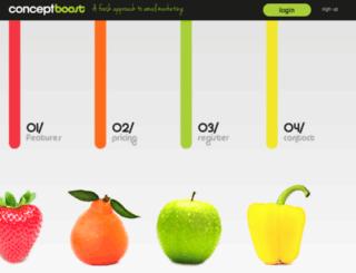conceptboost.com.au screenshot