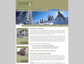 conceptbulgaria.com screenshot