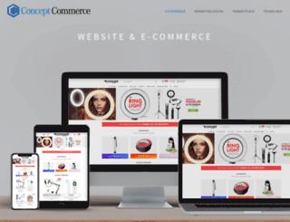 conceptcommerce.com.br screenshot