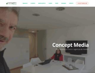 conceptmedia.com.ar screenshot