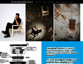 conceptualdevices.com screenshot