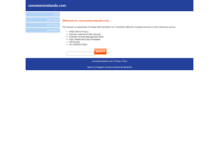 concessionstands.com screenshot