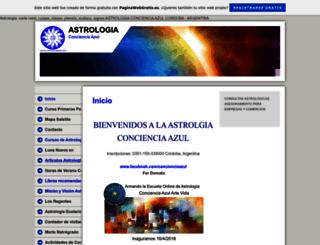 concienciaazul.es.tl screenshot