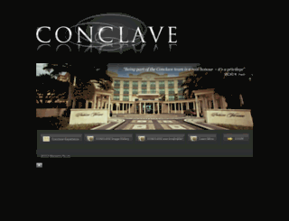 conclave.com.au screenshot