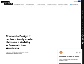 concordiadesign.pl screenshot