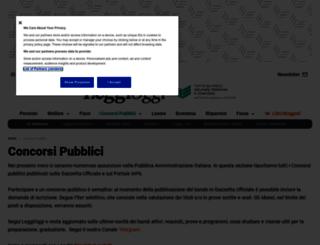 concorsimaggioli.com screenshot