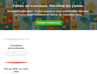 concours.fbapp.io screenshot