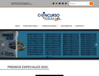 concursoideas.com screenshot