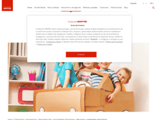concursorecapacita.fundacionmapfre.org screenshot