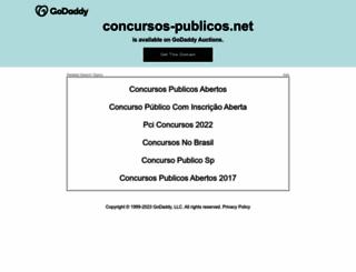 concursos-publicos.net screenshot