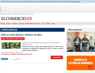 concursos.elcomercio.es screenshot