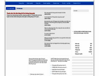 condao.baria-vungtau.gov.vn screenshot