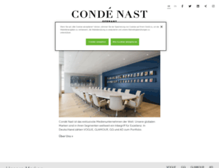 conde-nast.de screenshot