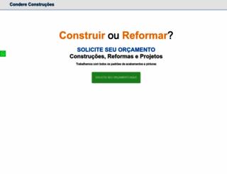 condereconstrucoes.com.br screenshot