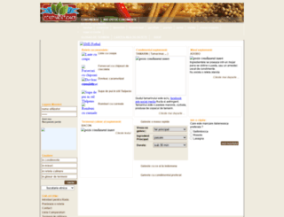 condimenteweb.ro screenshot