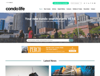 condolifemag.com screenshot