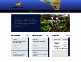condorgold.com screenshot