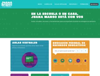 conectarigualdad.com.ar screenshot