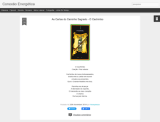 conexaoenergetica.blogspot.com.br screenshot