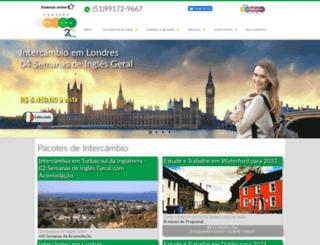 conexaoirlanda.com.br screenshot