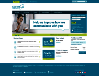 conexus.ca screenshot