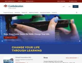 confederationc.on.ca screenshot