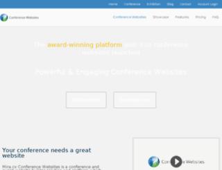 conference-websites.co.uk screenshot