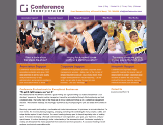 conferenceinc.com screenshot